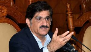 Rich result son google SERP when searching for 'Murad Ali Shah'
