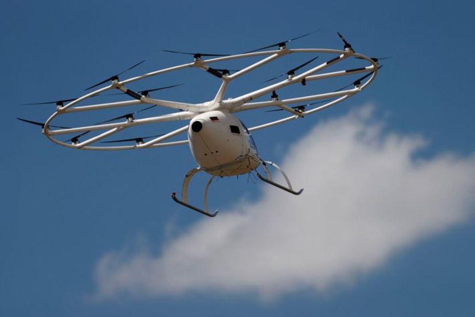 German company Volocopter air taxi