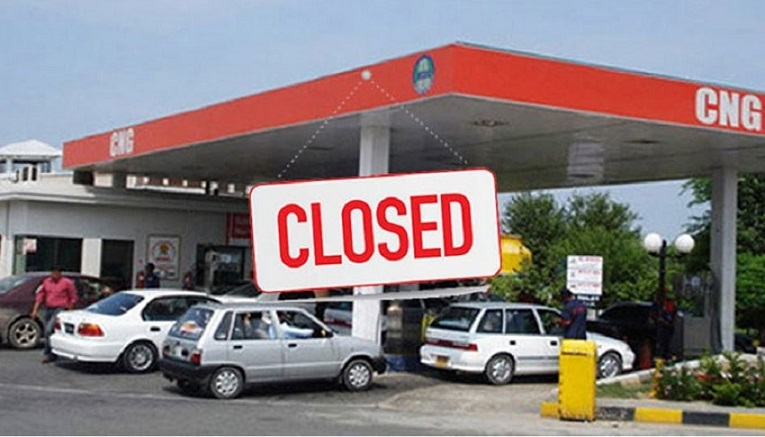 CNG stations closed