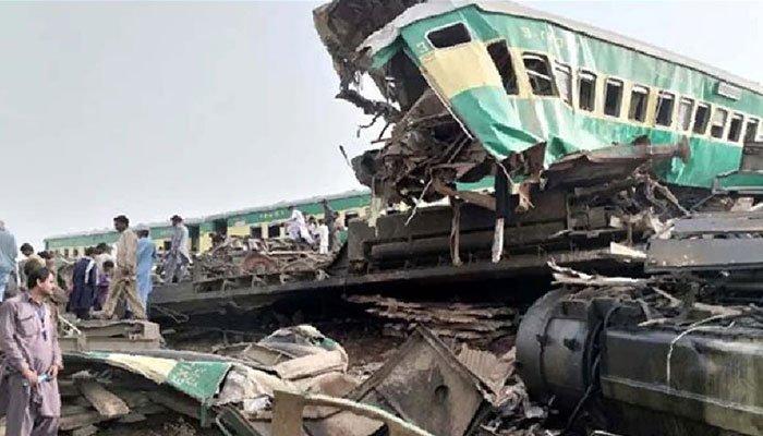 Dahrki rail crash