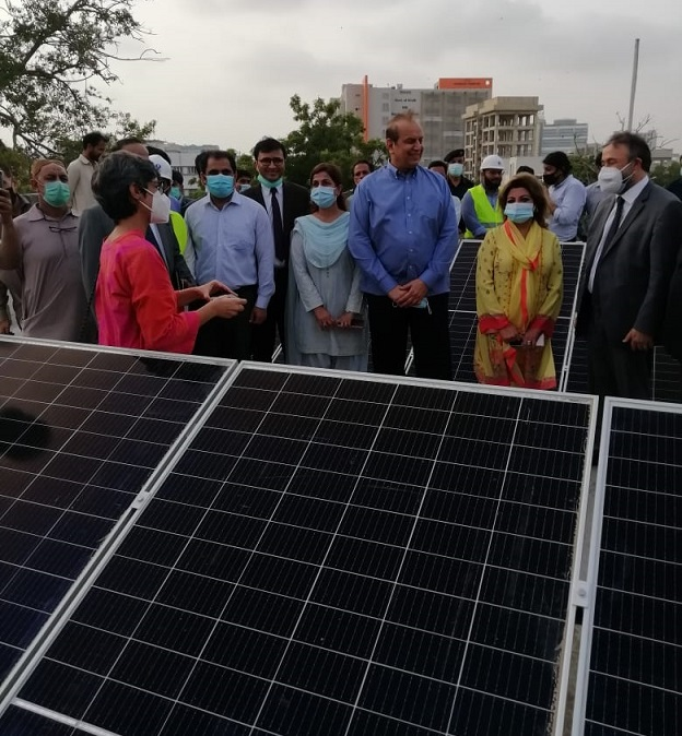 Minister inspects solerisation