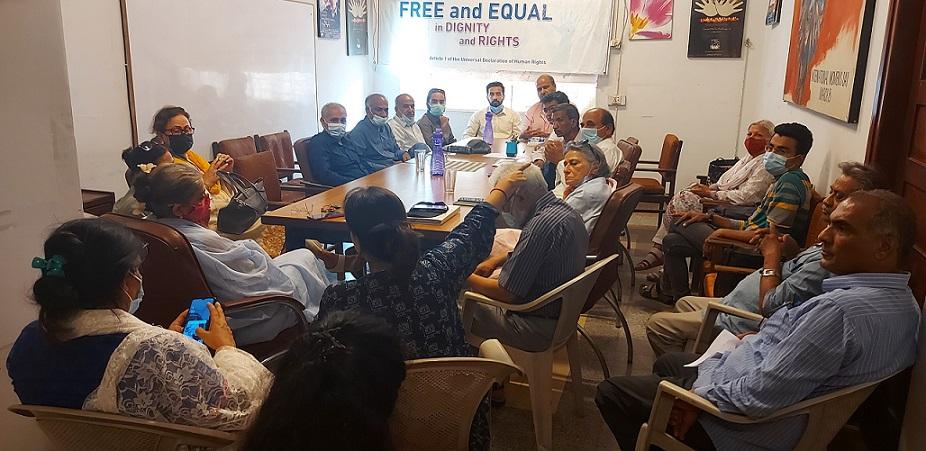 Karachi civil society meeting
