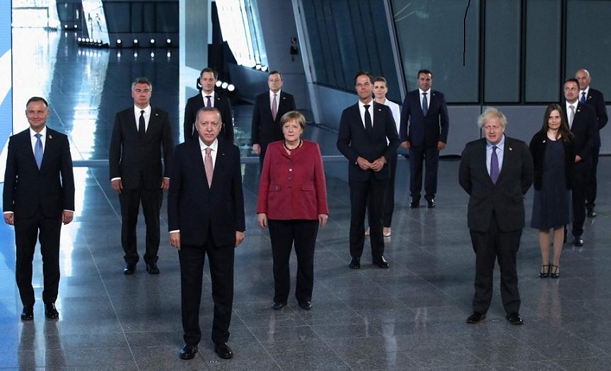 NATO heads