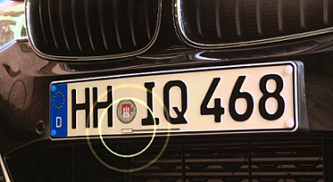 Tracking number plates