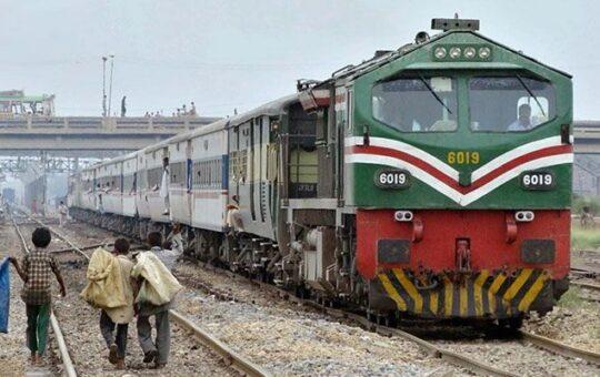 Pakistan railway reduces speed