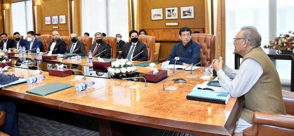 Alvi meeting with committee, Emerging Technologies on I-voting