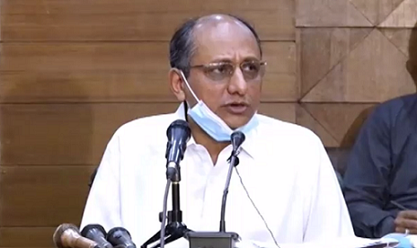 Sindh Labour minister Saeed Ghani