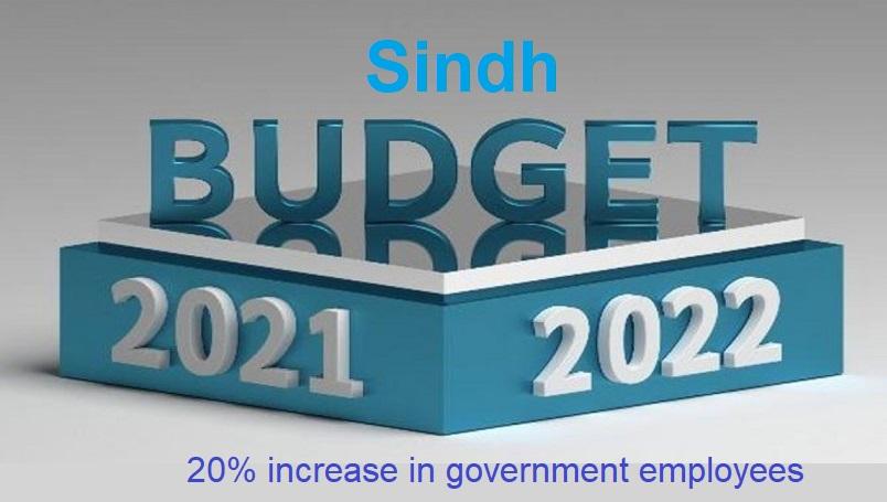 Sindh Budget 2021-22