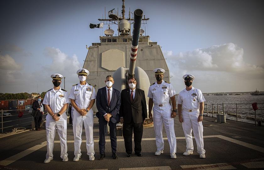 U.S Naval Ship USS Monterey