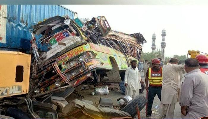 DG khan accident