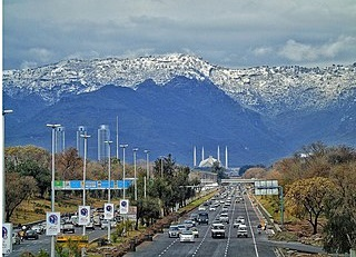 Search results on google SERP when searching for 'Islamabad'
