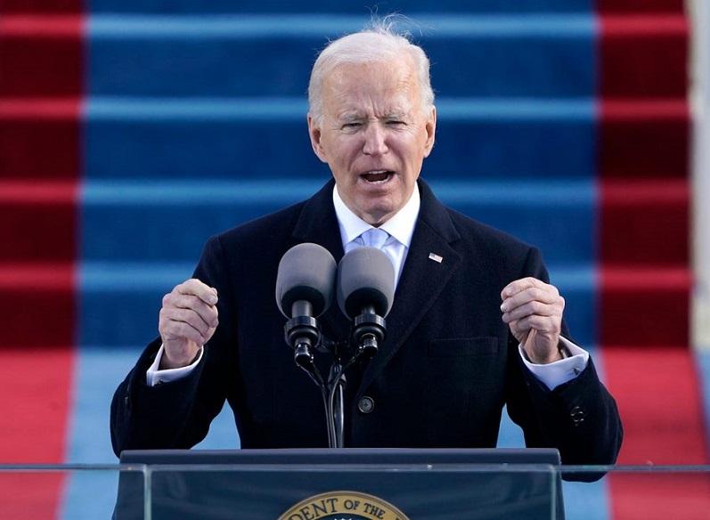 US president Jeo Biden
