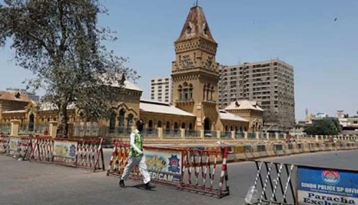 Rich result son google SERP when searching for 'Karachi lockdown'