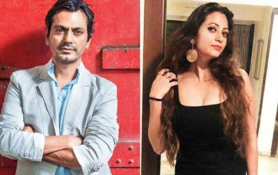 Rich result son google SERP when searching for 'Nawazuddin Siddiqui and Aaliya'