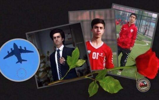 Rich result son google SERP when searching for 'Afghan footballer Zaki'
