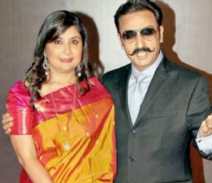 Rich result son google SERP when searching for 'Gulshan grover wife Kashish'