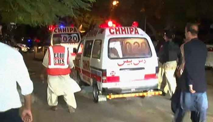 Rich result son google SERP when searching for 'Karachi Blast'