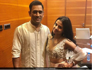 Rich result son google SERP when searching for 'Mahendra Dhoni and Sakshi'