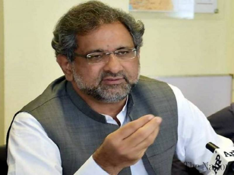 Rich result son google SERP when searching for 'Shahid Khaqan Abbasi'