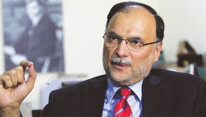 Rich result son google SERP when searching for 'Ahsan Iqbal'