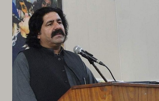 Rich result son google SERP when searching for 'Ali Wazir'