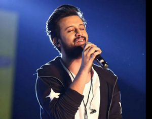 Rich result son google SERP when searching for 'Atif Aslam'