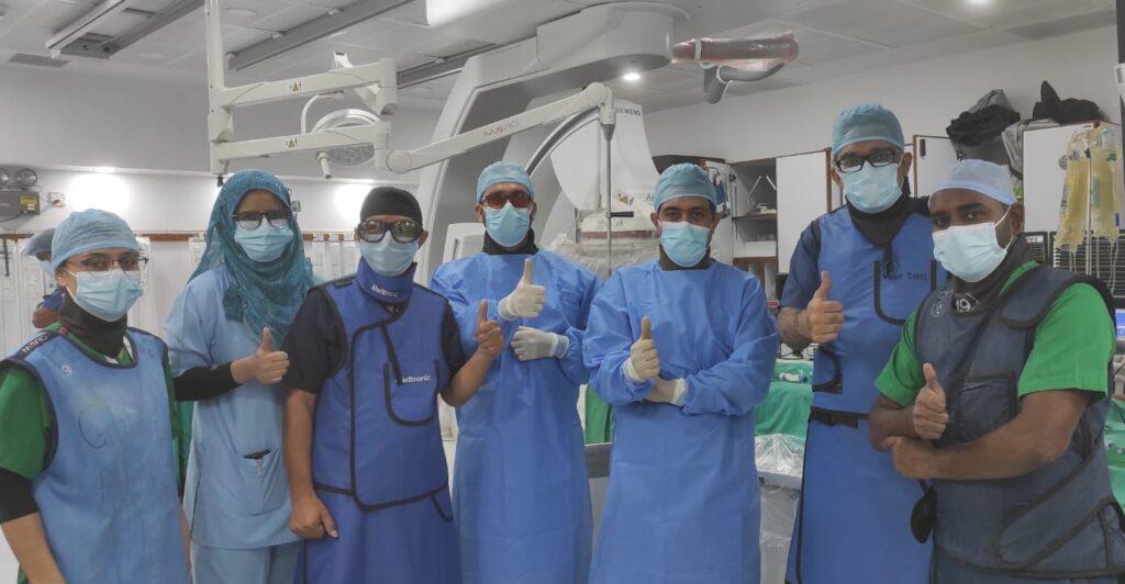 Rich result son google SERP when searching for 'Heart surgery Aga khan'