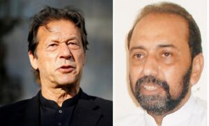 Rich result son google SERP when searching for 'Jalal Shah -Imran Khan'