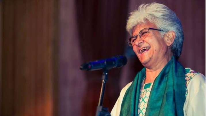 Rich result son google SERP when searching for 'Kamla Bhasin'