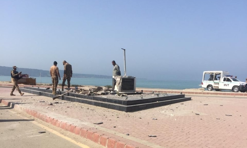 Rich result son google SERP when searching for 'Qaud statue in Gwadar'