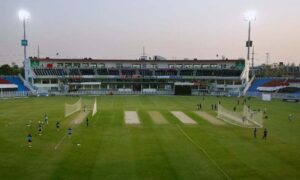 Rich result son google SERP when searching for 'Rawalpindi stadium