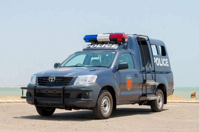 Rich result son google SERP when searching for 'Police mobile'