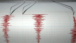 Rich result son google SERP when searching for 'earthquake'